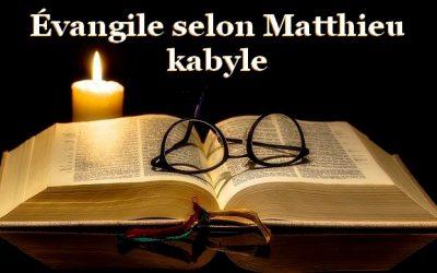 Évangile selon l'apôtre Matthieu en kabyle