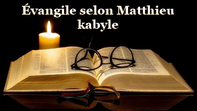 evangile Matthieu kabyle