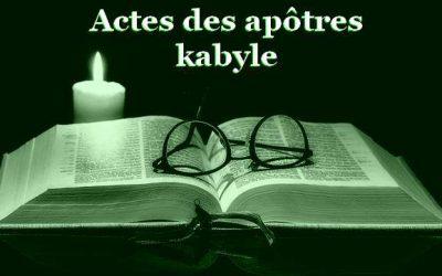 Actes des Apôtres en langue Kabyle