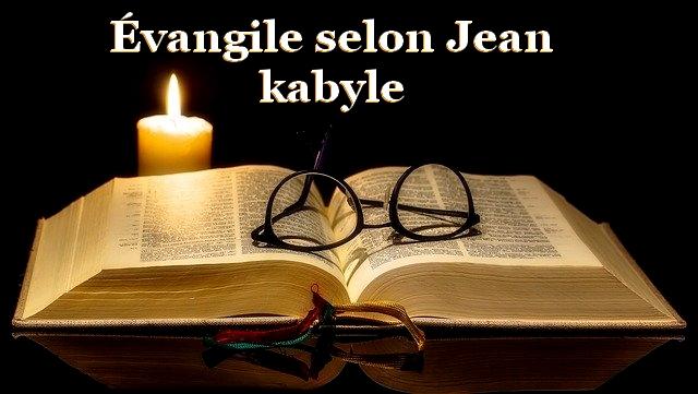 evangile jean kabyle